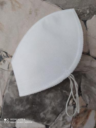 tapabocas con válvula triple capa lavable