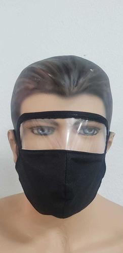 tapabocas con visor