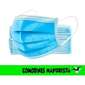 Tapabocas Descartables - Mascarilla - Caja 50 Unidades