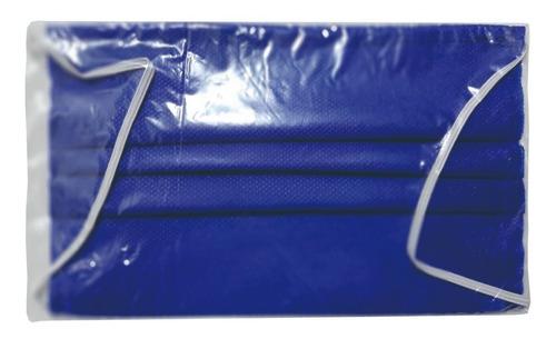 tapabocas desechables paquete x 50 unidades
