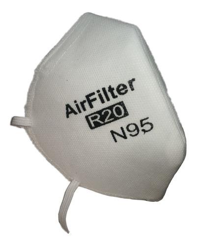 tapabocas filtro n95 microparticulas caja x 6