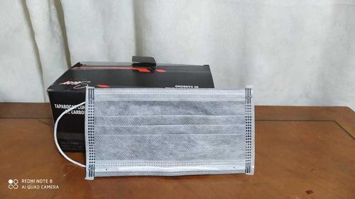 tapabocas importado con filtro de carbono