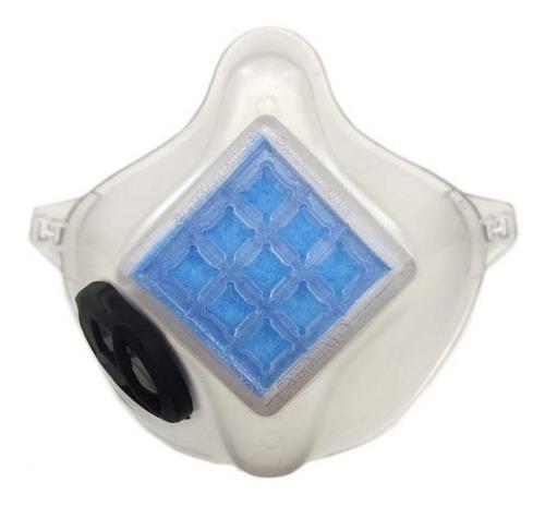tapabocas lavable tipo n95 con válvula + 30 filtros