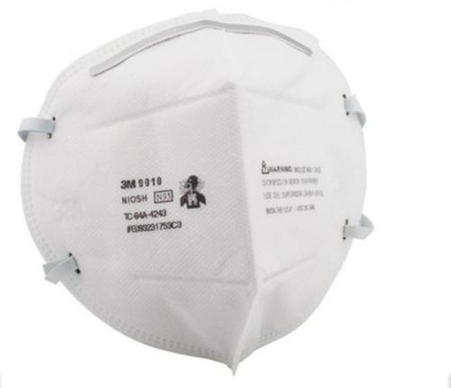 tapabocas  mascarilla n95 3m ref. 9010 paquete x10 unidades!