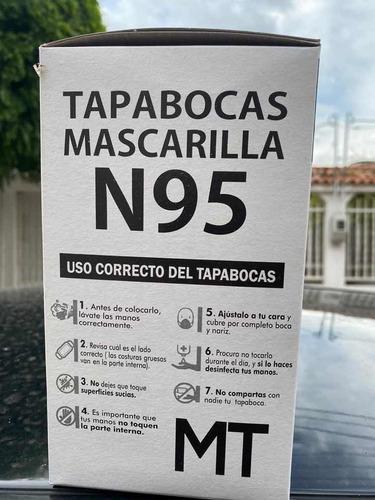 tapabocas n95 50 und x caja