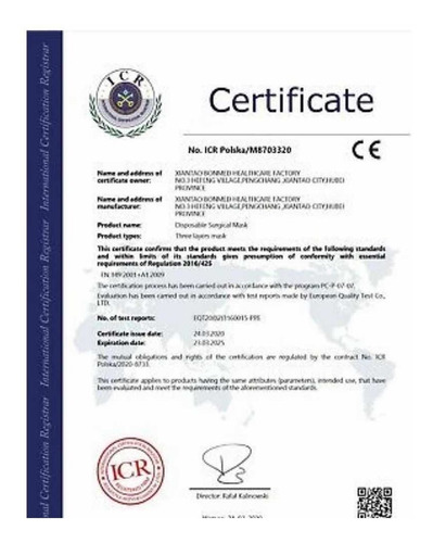 tapabocas n95 certificados 100%