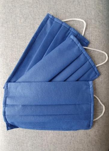 tapabocas res pliegues con filtro anti fluido