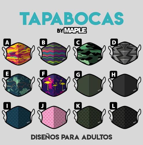 tapabocas reutilizable lavable