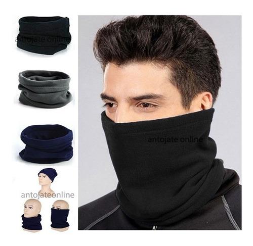 tapabocas y nariz  cuello bandana proteccion frio bufanda