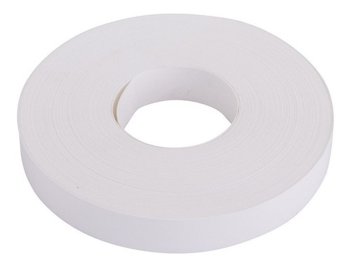 tapacanto blanco 22mm pvc x 600 mtrs sin cola  canto abs