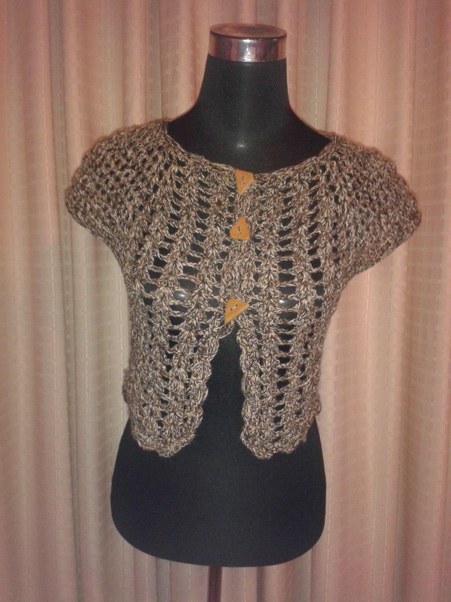 Tapadito Chaleco Tejido A Crochet -   8.000 en Mercado Libre e53b187edaf2