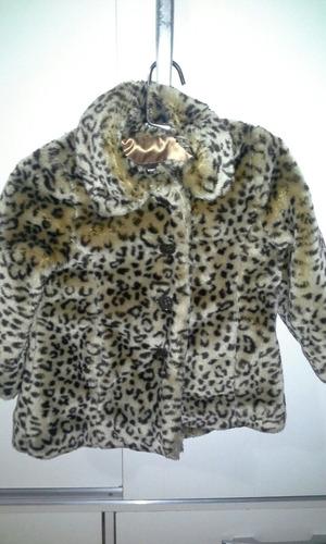 tapado de leopardo para niña ofertaaa