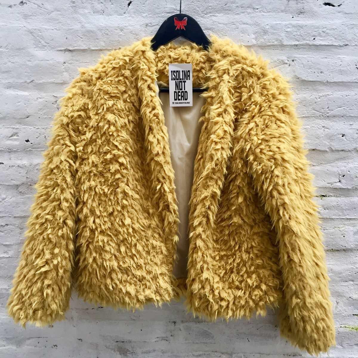 759ff0b0 tapado peludito mujer piel sintética abrigo moda invierno. Cargando zoom.