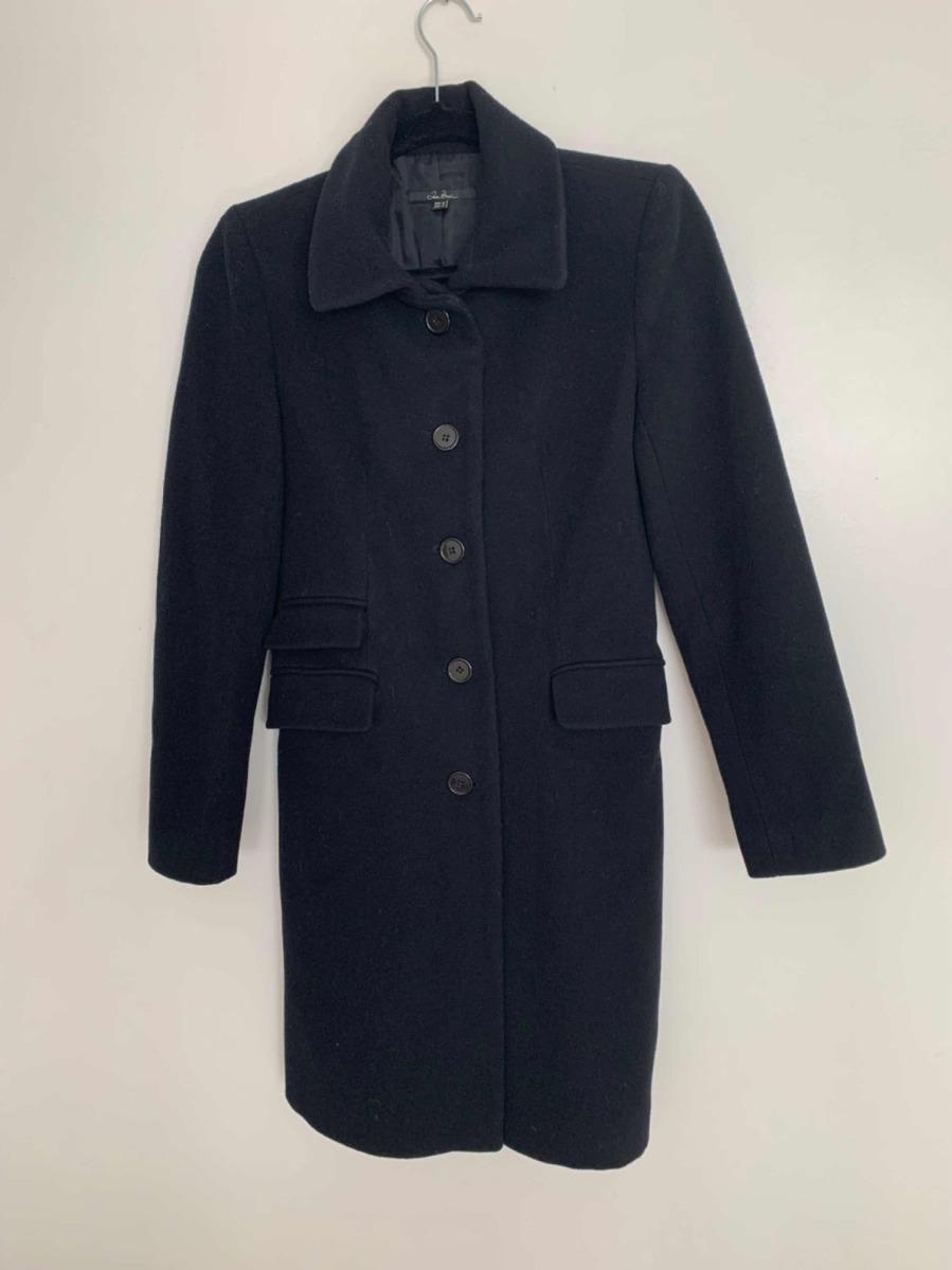 venta caliente online d5190 8abfb Tapado Zara Mujer Paño Negro Abrigo - $ 1.950,00
