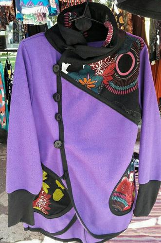 tapados abrigos capas de polar talle 1 al 10