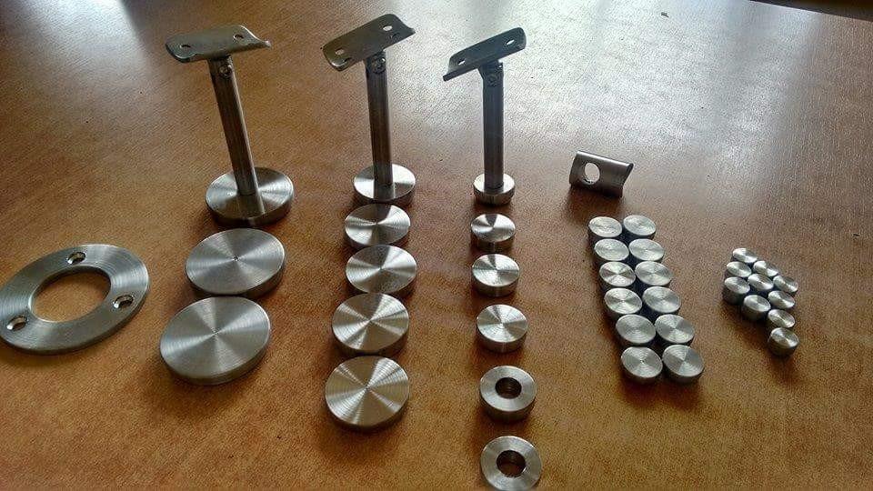 Tapas de acero inoxidable para barandal en mercado libre - Herrajes de acero inoxidable ...