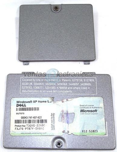 tapas de memoria y wireless para dell latitude d610 ipp4