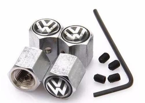 tapas de pitón con seguro y con logo para volkswagen vw