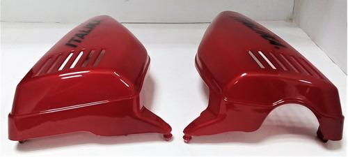 tapas laterales ft125 roja izq / der italika original