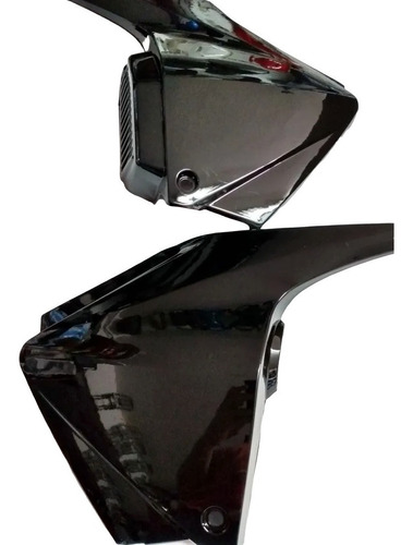 tapas laterales honda invicta modelo viejo negras