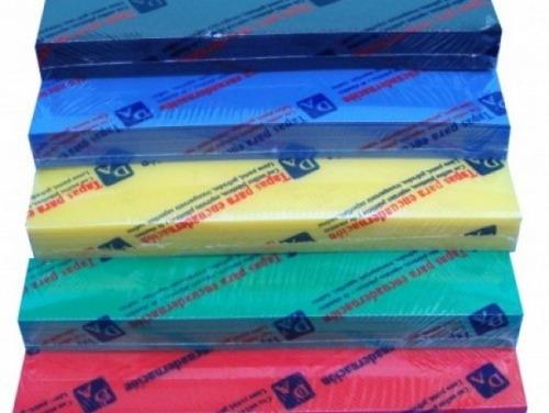 tapas para anillado espiralado a-4 caja 500 unid+5 paq 12 mm