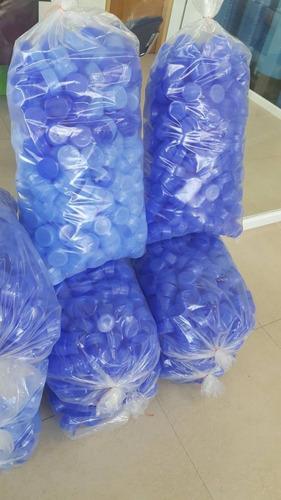 tapas para botellones de agua potable (500 unds)
