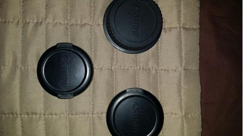 tapas para cámaras canon e 58mm e 52mm