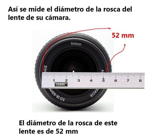 tapas para lentes canon de 67 mm generico