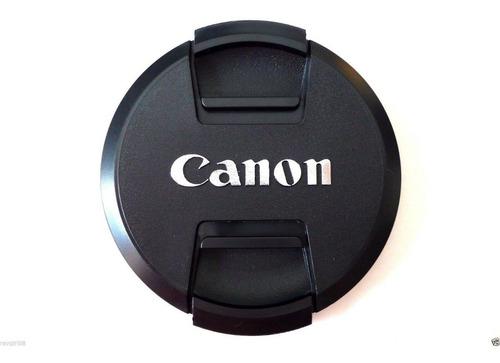 tapas para lentes canon de 72 mm generico