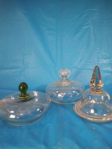 tapas para poncheras de vidrios