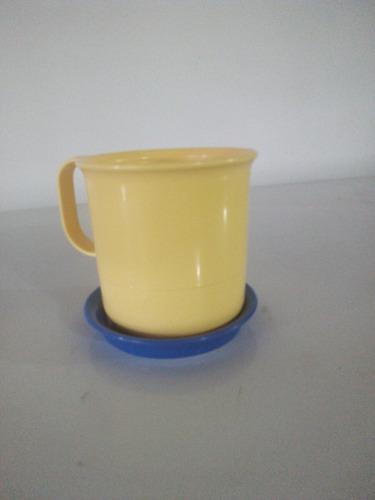 tapas para tazas de mesa café tupperware