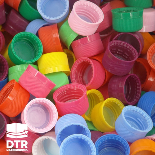 tapas plasticas color a elección rosca 28mm tp15-010 .x1300u