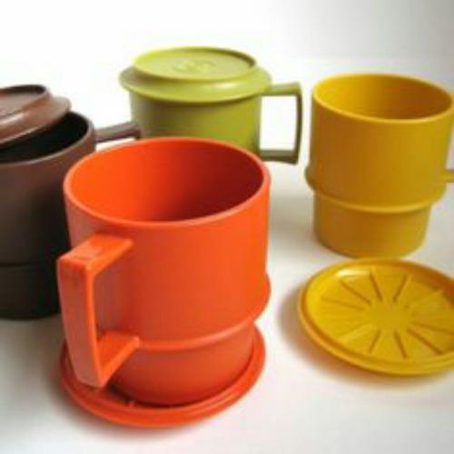 tapas/posavasos para tazas tupperware