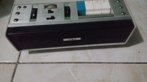 tape deck aiwa stéreo tp-1002 sem teste - frete grátis