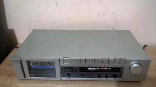 tape deck akai cs-f12 - excelente estado