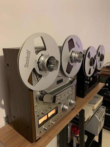 tape deck de rolo akai gx 635d raro e perfeito segundo dono.