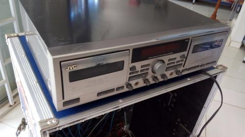 tape deck duplo jvc td w709