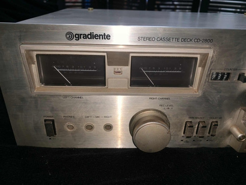 tape deck gradiente cd 2800