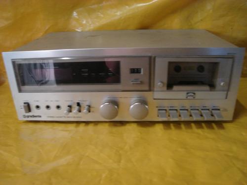 tape deck gradiente cd-4.000 - impecavel - u. dono - tudo ok