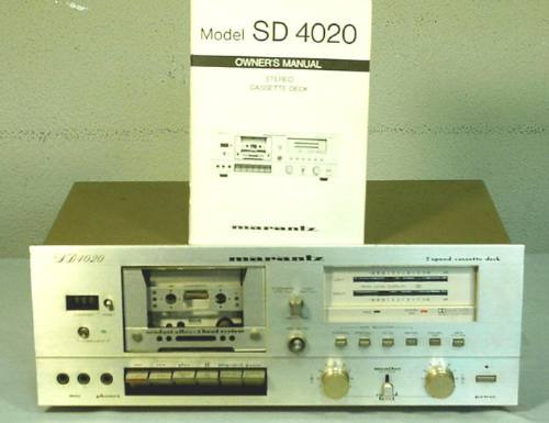 tape deck marantz sd4020 raro