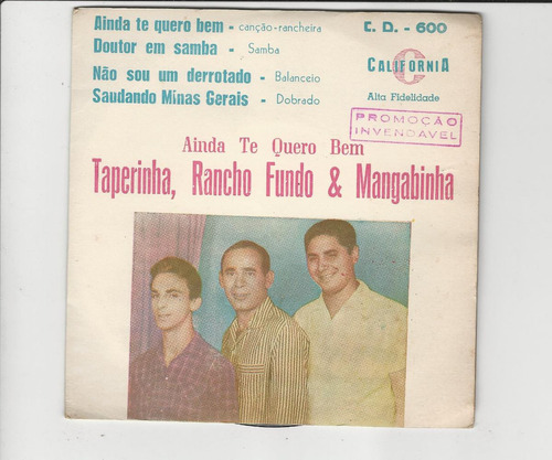 taperinha, rancho fundo e mangabinha - compacto ep 30