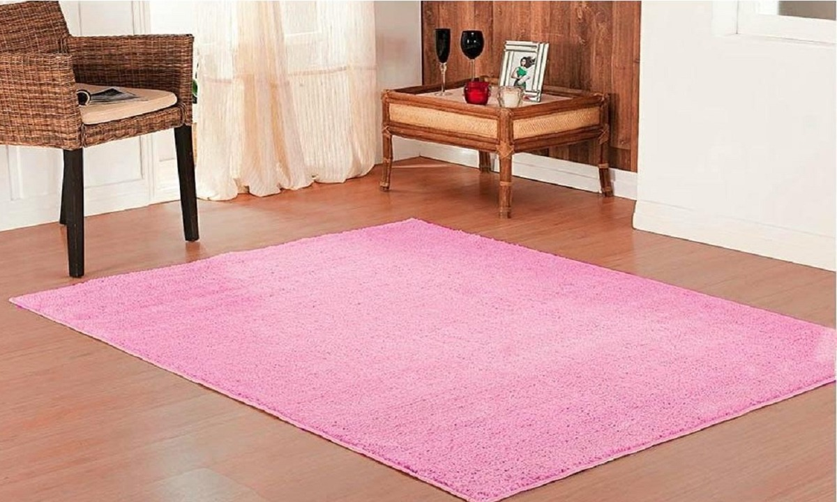 Tapete 200x150cm Linha Classic Rosa Chiclete Oasis Tapetes R 189  -> Oasis Tapetes