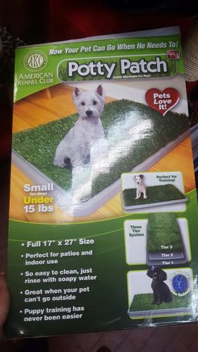 tapete acostumbrador pasto sintetico para perros tvcompre ya