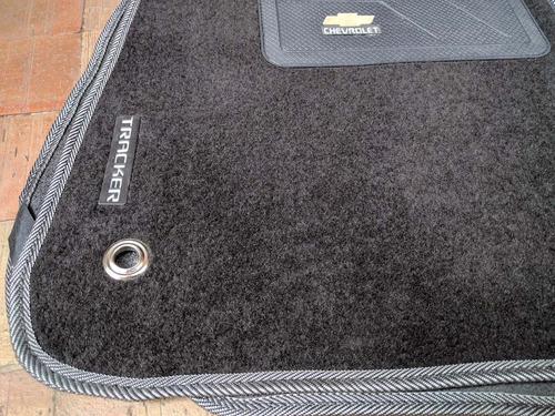 tapete alfombra chevrolet tracker accesorios carro vehiculos