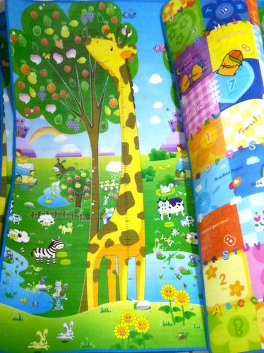 tapete alfombra infantil  bebé gateo grueso 2.00 x 1.80 x1cm
