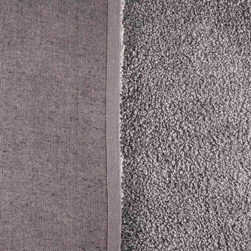 tapete aspen 1,00x1,50m para sala e quarto havan - cinza cl