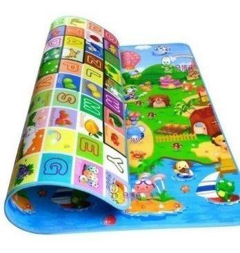 tapete atividades infantil c/ bolsa 1,80x1,20 dupla face top