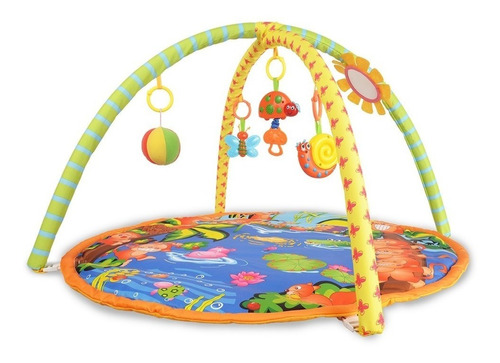 tapete atividades musical infantil 5 brinquedos confortável