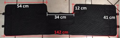 tapete auto universal 3 piezas