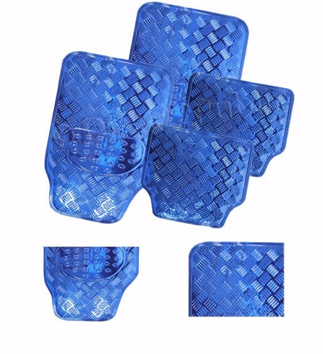 tapete automotivo nissan xterra 2004 azul cromado jogo 4pcs